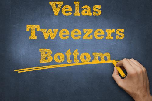 velas Tweezers Bottom