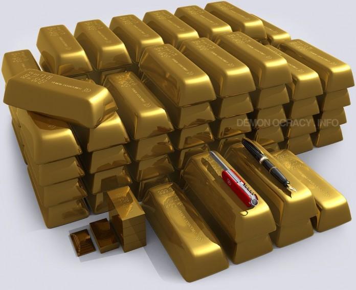 cuanto oro hay en el mundo 4