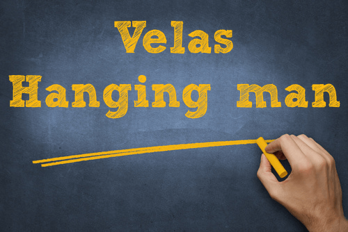 Vela hanging man