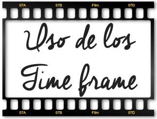 ¿Cómo usar los multiples time frame?