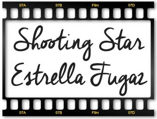 Vela shoting star (estrella fugaz)