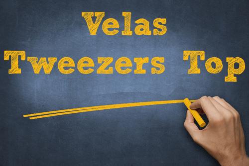 velas Tweezers top