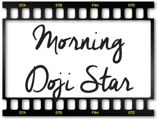 Velas Morning Doji Star (Estrella Doji de la Mañana)