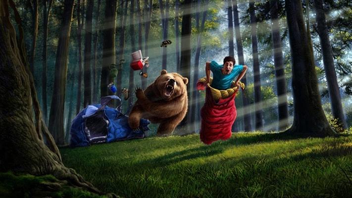 traders exitosos oso huir