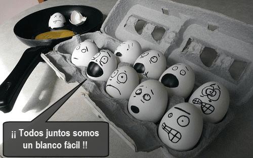 refuerzo aleatorio huevos
