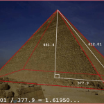 las ondas de elliott estan presentes en la piramide de keops