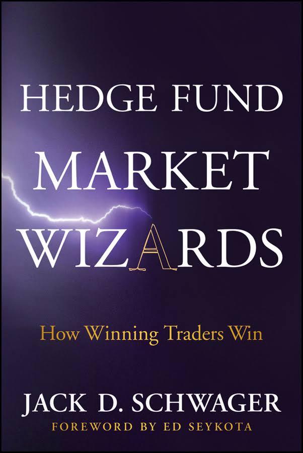 portada de libros de trading Hedge fund market wizards