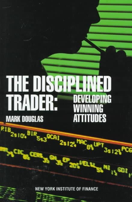 portada de libros de trading The disciplined trader